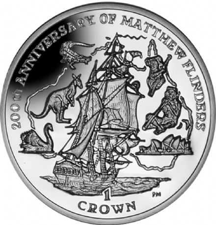 200th Anniversary of Matthew Flinders 2014 Crown